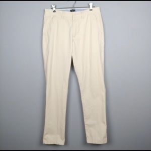 J Crew Sutton Light weight Khaki Pants